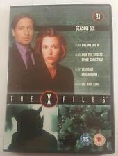 X-files dvd season 6 - 31 episode 5-8 - xfiles dvd season 6