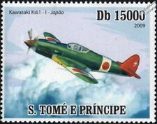 WWII KAWASAKI Ki-61 HIEN (Flying Swallow) Japanese Army Fighter Aircraft Stamp