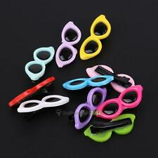 10pcs Cute Sunglasses Type Pet Dog Cat Puppy Bow Hair Clip Hairpin Accessories