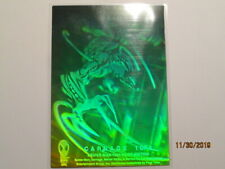 1994 AMAZING SPIDER-MAN - 1ST ED. HOLOGRAM - CARNAGE ( 1 of 4 ) ( GREEN / BLUE )