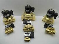 KLOD IP65 WATERPROOF SOLENOID VALVE AIR WATER GAS OIL BRASS NORMALLY CLOSED 240V