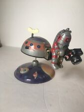 OSH Mars-10 Wind Up Tin Space Station With Robot Holding Camera - MS 375