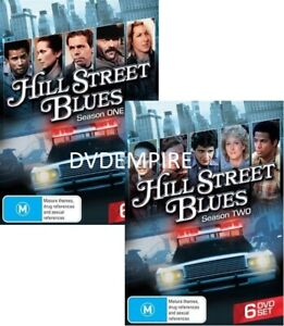 Hill Street Blues Season 1 & 2 DVD 12 disc set New and Sealed Australia Region 4
