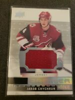 2016-17 UPPER DECK HOCKEY CARD PREMIER ROOKIE JAKOB CHYCHRUN ARIZONA COYOTES...