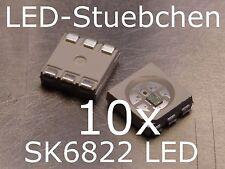 10x SK6822- 5050 RGB LED mit integriertem WS2811 Treiber IC