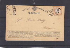 Dt. Reich 14 EF Brustschild Druckabweichung Freiberg - Meerane (B-5575)