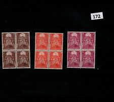 /// 4X LUXEMBOURG - MNH - EUROPA CEPT 1957