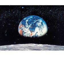 "Komar 8-019 Earth Moon Space 8 Panel Wall Wallpaper Mural 12' 9"" by 8' 10"""