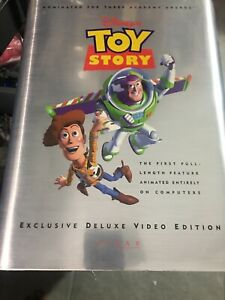 Sealed Vintage Toy Story Exclusive Deluxe Video Edition Collectible Set Book Art