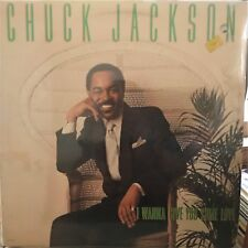 "CHUCK JACKSON LP: ""I WANNA GIVE YOU SOME LOVE"" 1980"