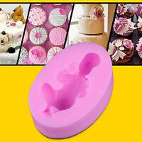 3D Baby Silikon Form Ausstecher Marzipan Fondant Tortendeko Kuchenform Eisform