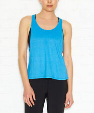 Lucy Strong Is Beautiful Tank Top Color Azul Size XL MSRP $49