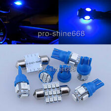 SMD LED Interior Lights Plate Package MAP for Jeep Wrangler 07-2014 9X Blue