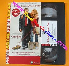 VHS film E ALLA FINE ARRIVA POLLY Stiller Aniston 2005 PANORAMA (F122) no dvd