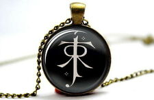 The Lord of the Rings - Elf Symbol - Photo Glass Dome Necklace Pendant