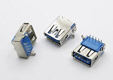 2pcs USB 3.0 Type-A Female 9 Pin Dip Socket Connector HW-UAF-30-02