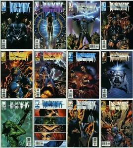 INHUMANS (1998) #1-12 COMPLETE SET SIGNED BY JAE LEE MARVEL KNIGHTS ABC TV SHOW