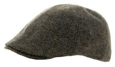 Heritage Traditions Mens Fashion Outdoor Green Windowpane Tweed Cap Hat
