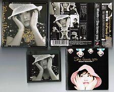 MISATO WATANABE She Loves You-Best JAPAN MD-Mini Disc ESYB7100 w/OBI+BOOKLET