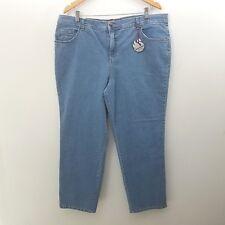 Gloria Vanderbilt Jeans Plus Sz 18W Short Amanda Light Blue Denim Stretch NWT