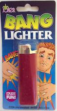 EXPLODING BANG CIGARETTE LIGHTER GAG JOKE PRANK NOVELTY TRICK MAGIC PARTY TOY