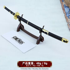 1/5 One Piece Roronoa Zoro Sword katana kitetsu 10inch Genuine authority &STAND雪