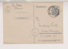 Gemeinsch.Ausg. GA-P 962, Pellworm über Husum, 16.3.48