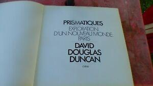 Davide Douglas Duncan Prismatic Exploration of A New World Paris 1972