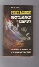 FRITZ LEIBER.SWORDS AGAINST WIZARDRY.SIGNED IST ED.NICE COVER BY JEFF JONES