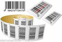 Printed Barcode Label Sticker 500 Bespoke For Amazon, EAN13, Sequential ISBN etc