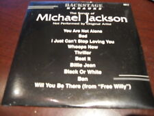 BACKSTAGE KARAOKE 9817 MICHAEL JACKSON CD+G SEALED on sale