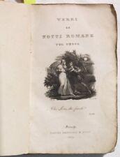 1833 ALESSANDRO VERRI LE NOTTI ROMANE INCISIONE ROMA