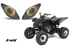 AMR RACING HEAD LIGHT GRAPHIC DECAL COVER YAMAHA RAPTOR 660 ATV PARTS - FRIGHT