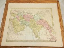 1808 Antique COLOR Map//ATLAS CLASSICA//ARABIA, INDIA, ETC.