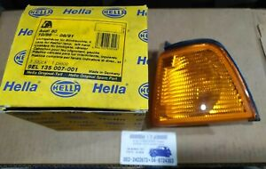 Front Indicator Flasher Left Hand HELLA 9EL 135 007-001 For Audi 80, 1986 - 1991