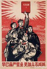 Chinese Communist Propaganda Chairman Mao 11 Political Poster Art Print A3 A4