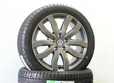 NUOVO 17 pollici Cerchi in lega VW Golf 6 7 SPORTSVAN GTI GTD R 225 45 R 17 gomme estive