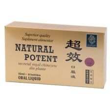 Natural Potent Long Erection 6x10ml. Improve Sexual Performance