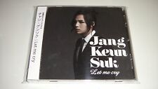 JANG KEUN SUK JAPAN LIMITED VERSION CD +DVD LET ME CRY  DA205