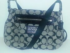 Coach NWT Ashley Signature C Swingpack Black  Crossbody new with tags