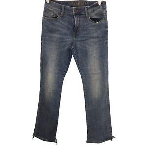 American Eagle Mens Extreme Flex Blue Denim Jeans Adult Bootcut Casual 30x32