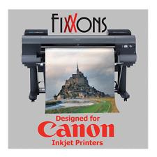 """Ultra Premium 100% Cotton InkjetCanvas Satin For Canon 44"""" x 40' Roll"""