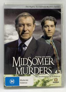 Midsomer Murders Season 4.3 - British Detective Drama Series DVD - Like New