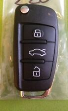 AUDI A6 Q7 CENTRAL LOCK REMOTE KEY FOB 4F0 868Mhz -2009 key cut and programming