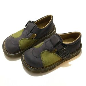 Dr Martens mary janes Sz 9 Grey / green