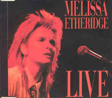 MELISSA ETHERIDGE - Live 4TR CDM 1988 POP ROCK