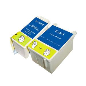 2 Ink Cartridge For Epson Stylus C62, CX3200