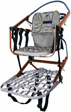 Lone Wolf Treestands Sit and Climb Ii Combo Molded Seat, Climbing Aid, Quiet,.