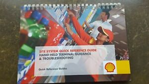 SHELL OIL HHT HAND- HELD TERMINAL GUIDANCE & TROUBLESHOOTING BOOK - NEW