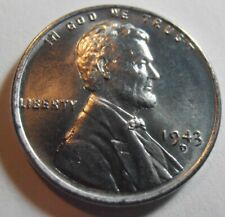 1943 D BU Lincoln Cent,  Premium Quality High-Grade Mint-State coin (43DQ1)